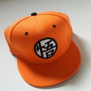 Dragon Ball Z Baseball Hat Orange